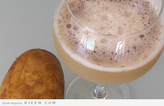 قناع عصير البطاطا و العسل