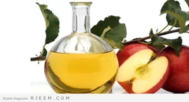 وصفة خل التفاح لتبييض الأسنان