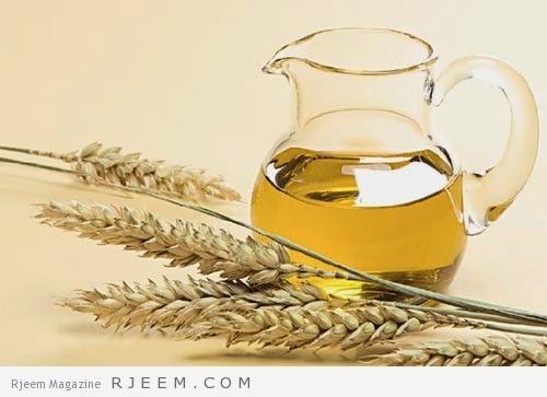 زيت القمح