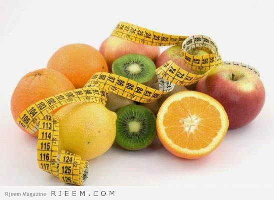 الرجيم الاسبوعي - انقاص الوزن في اسبوع فقط