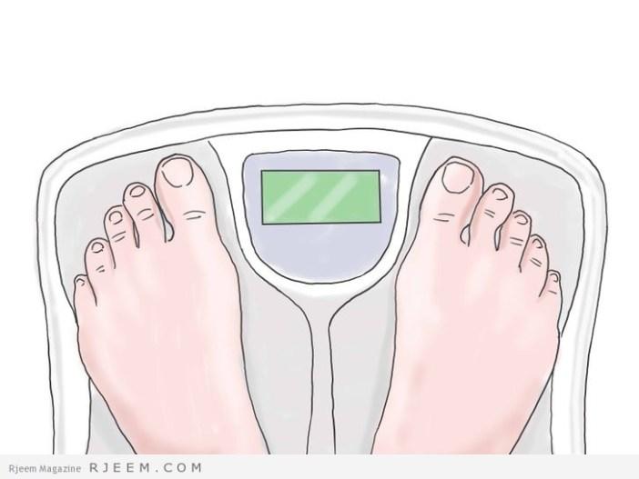 10 طرق فعالة لتحكم في الوزن