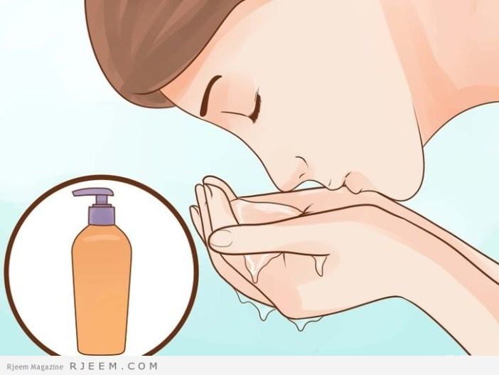 5 طرق لتنظيف البشرة المختلطة
