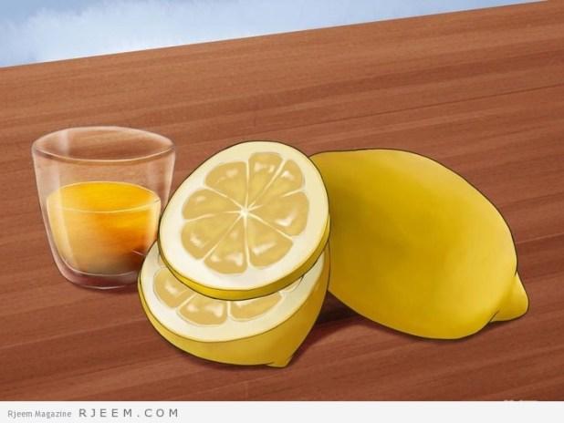 فوائد الماء بالليمون منها خسارة الوزن