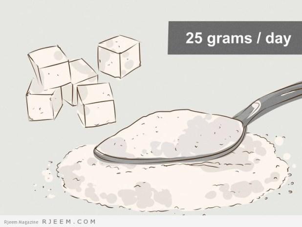 7 طرق تساعدك على توقف تناول السكر