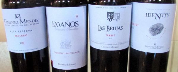 Giménez Méndez wines