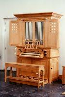 Reil-orgel (1994) in de v.m. kerk De Liefde