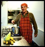 abdel kookt, foto Claire Felicie