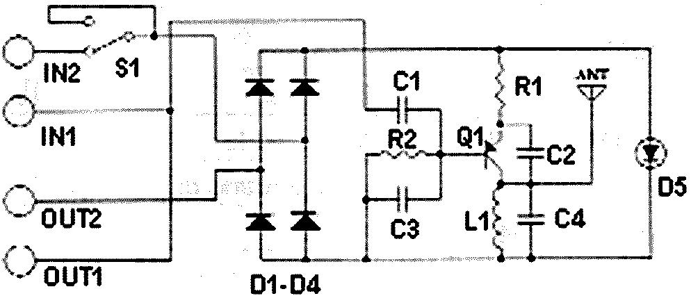 fm telephone bug circuit
