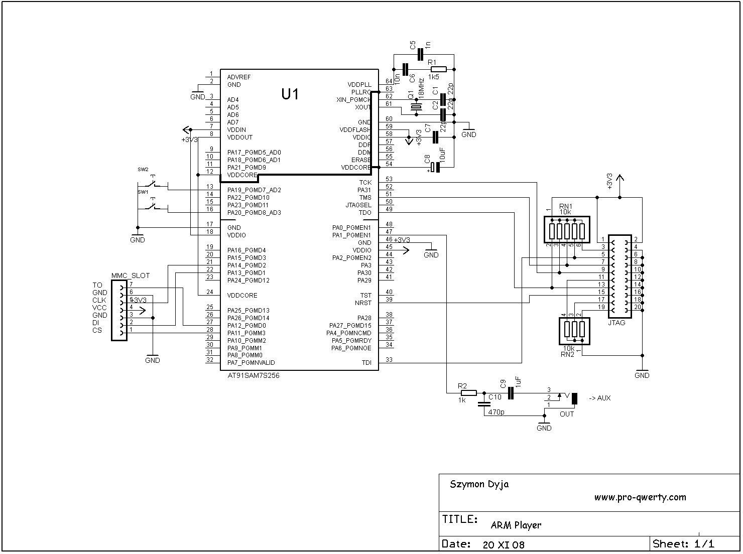 lcd display diagram