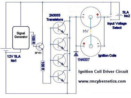 DIY Homemade Ignition Coil Driver - RMCybernetics