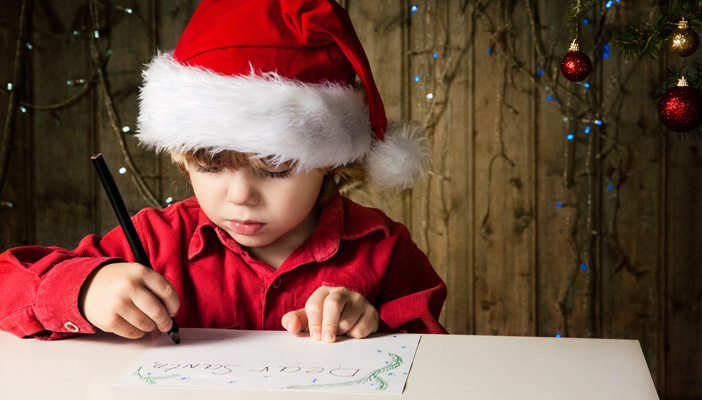 Letter from Santa - RNIB - See differently