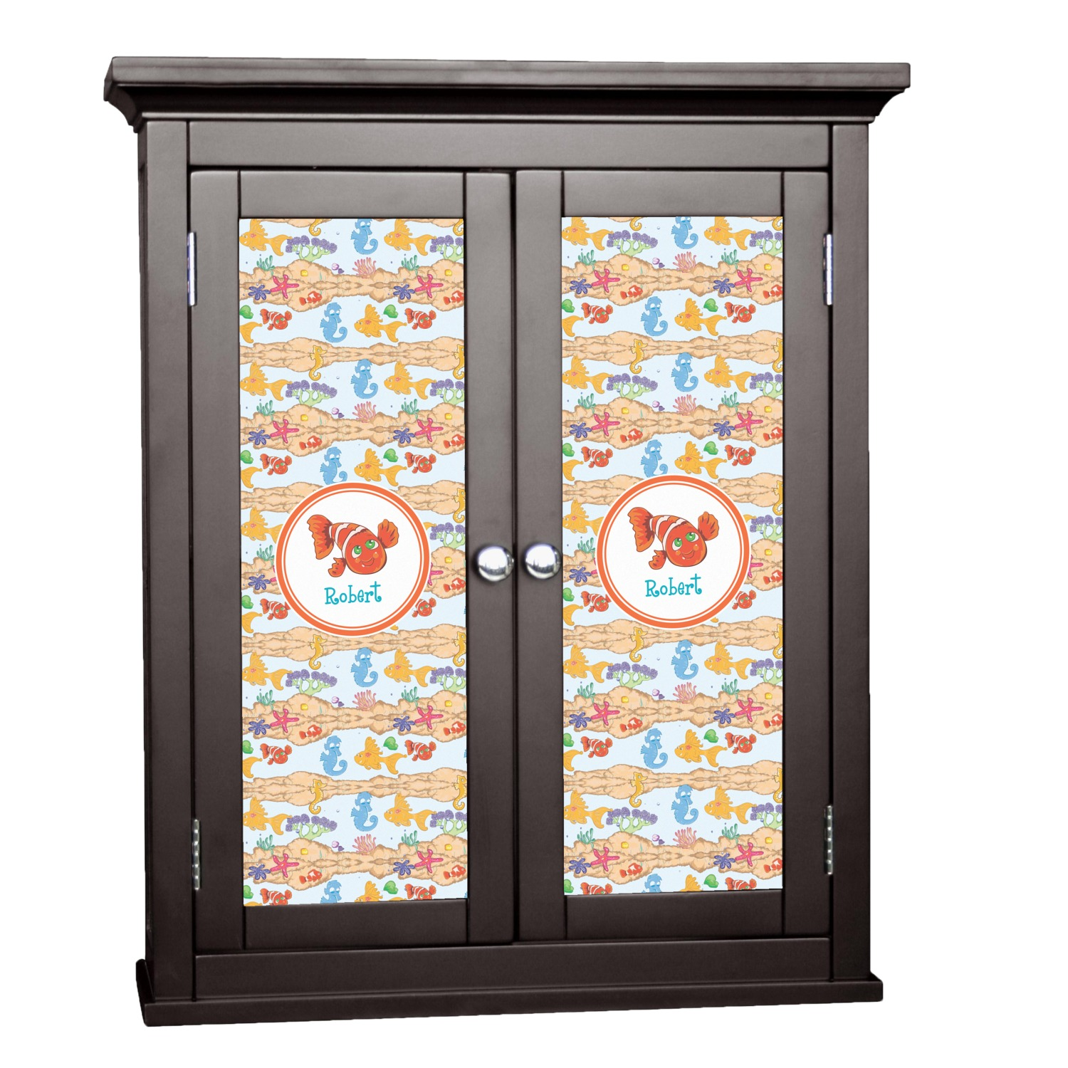 Under The Sea Cabinet Decal Large Personalized Rnk Shops