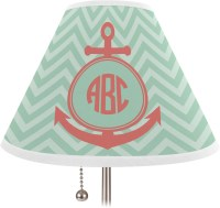 Chevron & Anchor Lamp Shade - Large (Personalized) - You ...