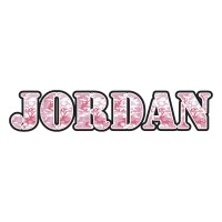 Pink Camo Name Decal - Small (Personalized) - You Customize It