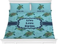 Sea Turtles Comforter Set - King (Personalized) - You ...