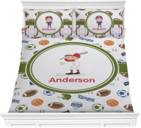 Sports Comforter Set - Full / Queen (Personalized ...