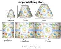 Animal Alphabet Empire Lamp Shade (Personalized ...