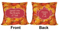 "Fall Leaves Outdoor Pillow - 16"" - YouCustomizeIt"
