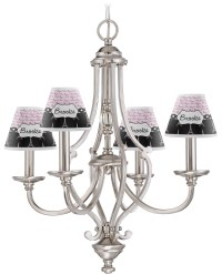 Paris Bonjour and Eiffel Tower Chandelier Lamp Shade ...