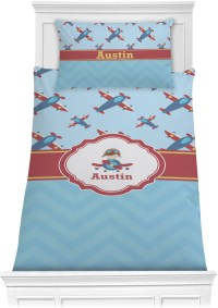Airplane Theme Comforter Set - Twin (Personalized ...