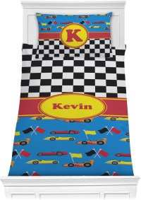 Racing Car Comforter Set - Twin (Personalized ...