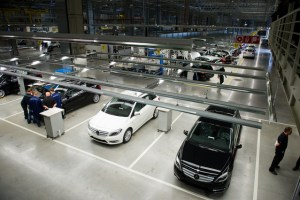 The Mercedes Benz factory is in Stuttgart which I'll be touring.