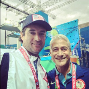 Bubba Watson and Greg Louganis