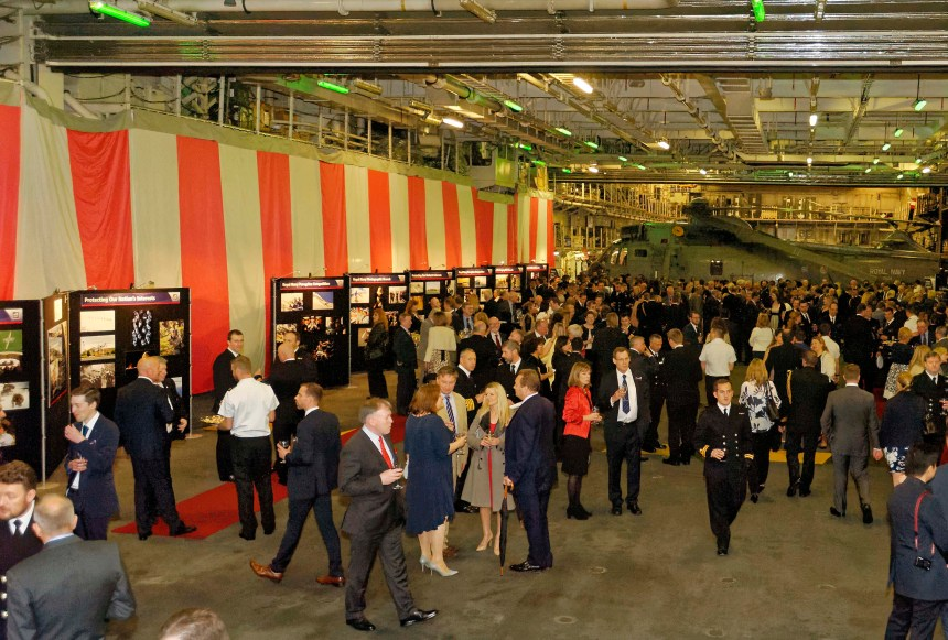 Guests Mingling At the Peregrine Trophy Awards Ceremony