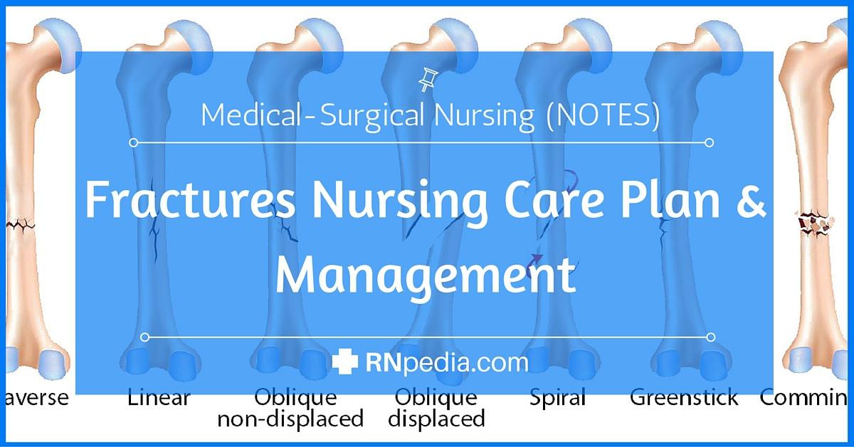 Fractures Nursing Care Plan  Management - RNpedia