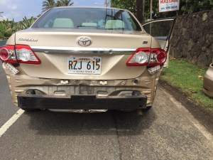 Rear Ended!