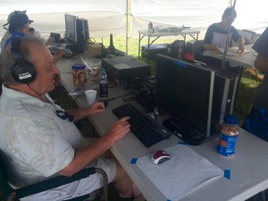 Ham Radios Setup and Operational