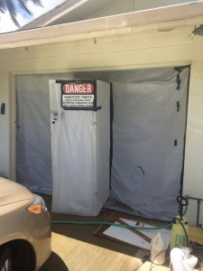 Former Garage Is a No-Go Zone!