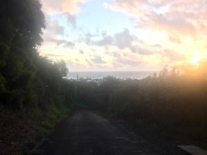 Sunrise on the North Shore