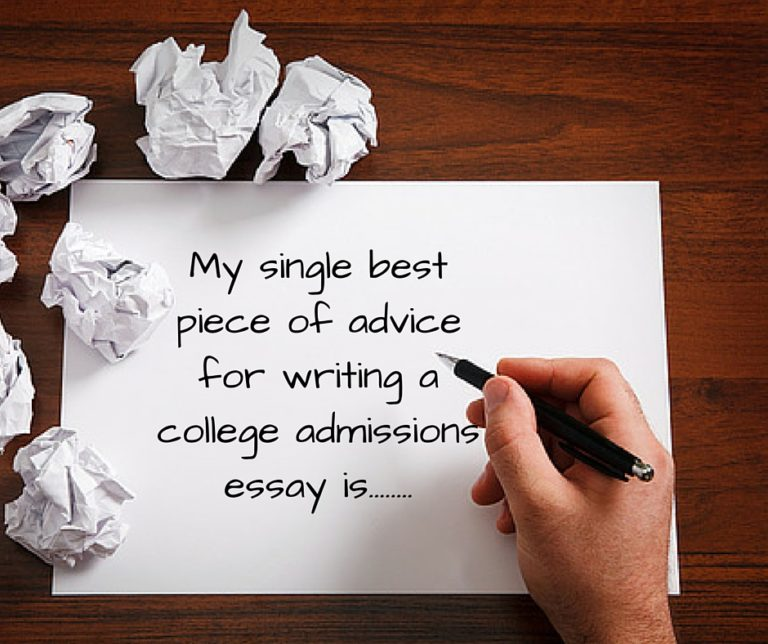 What\u0027s The Single Best Piece Of Essay Writing Advice? Road2College