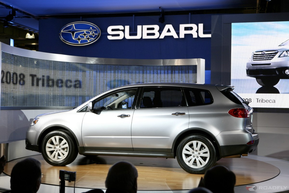 Subaru B9 Tribeca Steals The Show At The NYIAS