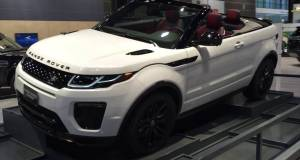 Range Rover Evoque Convertible Walk Around