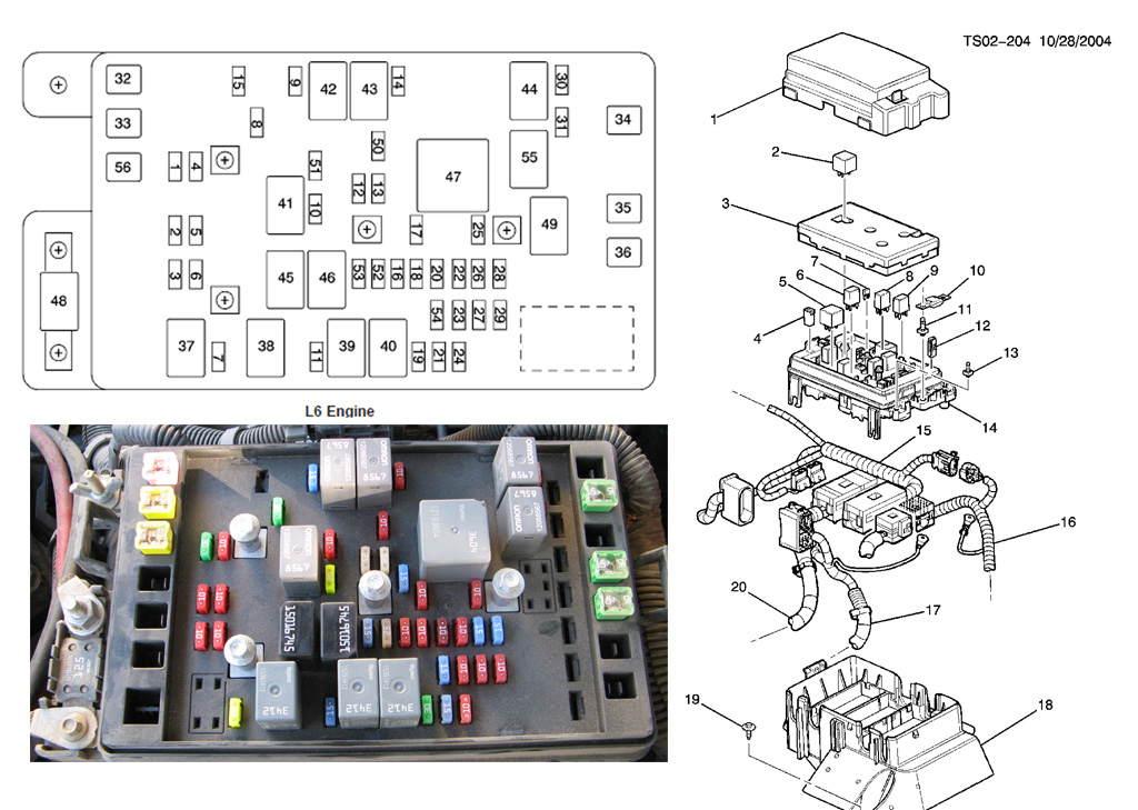 fuse block wiring diagram 2002 gmc envoy
