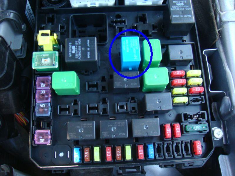 2009 ralliart fuse box