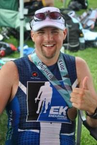 IM Boulder 2013 - Post Race Chillin