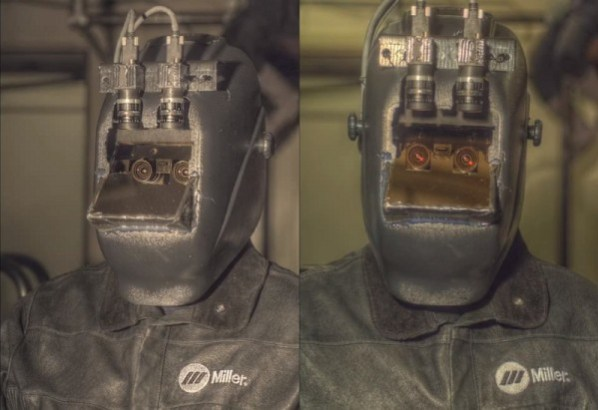 prototype augmented reality welding mask