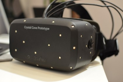 oculus rift crystal cove prototype ces 2014 awards