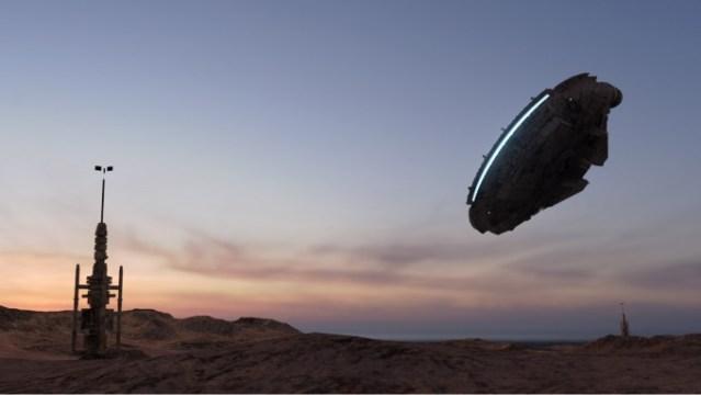 star wars trials of tatooine virtual reality htc vive vr millenium falcon