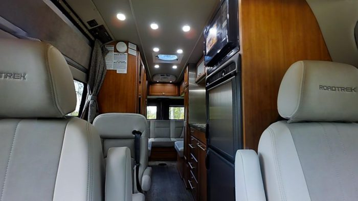 CS Adventurous Class B Motorhome Roadtrek