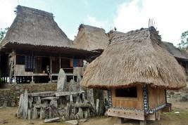 Bena village altar, Flores, Indonesia