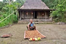Bena village elder, Flores, Indonesia