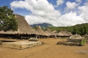 Traditional Lionese village, Kelimutu region