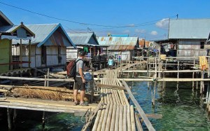 Wuring sea gypsy village, Flores, Indonesia