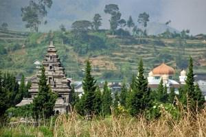 Dieng Plataeu ancient temple, Java, Indonesia