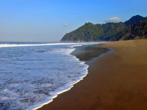 Beautiful Sukamade Beach, Java