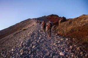 Rinjani summit trek, Lombok, Indonesia